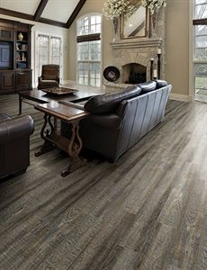"Show details for Home Legend Nú Elements Oak Graphite-7"" wide, Luxury Vinyl Tile, Laminate floor alternative, Embossed, Wide plank, Gray Floor"