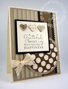Stampin' Up Pursuit of Happiness stamp set