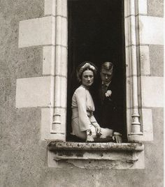 Duke of Windsor and Wallis Simpson on their wedding day, 1937