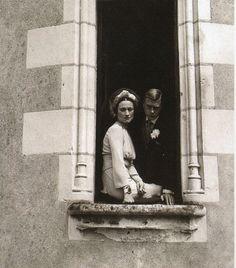 Duke of Windsor and Wallis Simpson on their wedding day, 1937