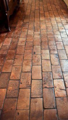 """thenoblehome:  """"Wood block floor  """""""