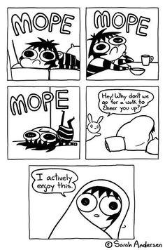 collection of internet memes and funny memes more at friendbookmark Super Funny, Funny Cute, Hilarious, Funny Shit, Cute Comics, Funny Comics, Sarah Andersen Comics, Sara Anderson, Sarah's Scribbles