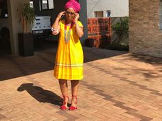 Look at this Classy latest african fashion look South African Dresses, Latest African Fashion Dresses, African Dresses For Women, African Print Dresses, African Print Fashion, Africa Fashion, African Prints, Latest Fashion, Pedi Traditional Attire