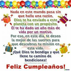 Spanish Birthday Wishes