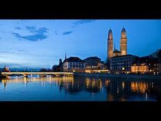 Цюрих (Zürich). Швейцария - YouTube