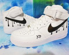 Mid/Low White/Black Oreo Air Force 1