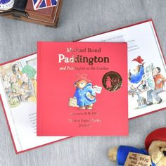 Everybody's favourite bear makes a special appearance in this personalised edition which includes two books in one. Paddington, the original story of the bear from Darkest Peru, and Paddington in the Garden have been reproduced here in their origi. Personalised Childrens Books, Childrens Gifts, Personalized Books, Personalised Gifts, Horrible Histories, Baby Boutique Clothing, Paddington Bear, Kid Names, The Book