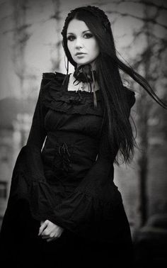 Welcome To My Gothic Realm ...: Photo Gothic Fashion goth gothic style fashion…