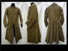 English Wool, Silk, & Linen Coat c. 1750 - 1759