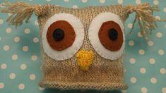 92c1d21b6e4 Ravelry  DK Babies Teddy Bear   Owl Hats pattern by Knits-r-us