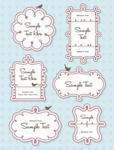 Illustration about Set of cute frames and bird for your text, message or title. Illustration of invitation, greeting, border - 17585329 Design Blog, Art Design, Design Elements, Cute Vector, Doodle Frames, Cute Frames, Simple Doodles, Free Vector Graphics, Writing Paper