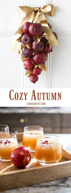 Fall menu ideas, DIY