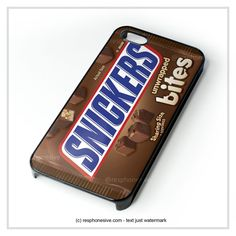 Snickers Candy Bar Chocolate iPhone 4 4S 5 5S 5C 6 6 Plus , iPod 4 5 , Samsung Galaxy S3 S4 S5 Note 3 Note 4 , HTC One X M7 M8 Case