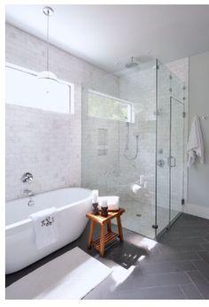 Example of shower floor in Carera