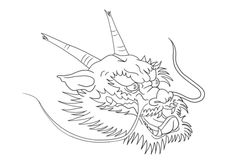 Chinese Dragon Head coloring page from Dragon category. Select from 31983 printable crafts of cartoons, nature, animals, Bible and many more. Lion Head Drawing, Dragon Head Drawing, Chinese Dragon Drawing, Dragon Head Tattoo, Chinese New Year Dragon, Dragon Mask, Dance Coloring Pages, New Year Coloring Pages, Dragon Coloring Page