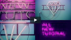 Neon Sign -- Cinema 4D Breakdown / Tutorial on Vimeo