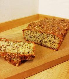 Lchf, Toffee Bars, Keto Bread, Crackers, Banana Bread, Paleo, Food And Drink, Healthy Recipes, Baking