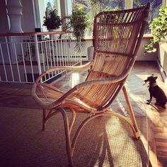 Monet chair från Sika design http://www.dennyshome.se/sika-design #home #living #rottingmöbler #möbler #furniture #springinterior #interiorforyou #monet #chair #chairs #stolar #utemöbler #vår #sikadesign #sika #design #rotting #dennyshome