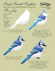 16 Ideas cardinal bird crafts blue jay for 2019 Bird Painting Acrylic, Watercolor Bird, Painting & Drawing, Watercolor Paintings, Bird Paintings, Watercolors, Bird Drawings, Animal Drawings, Blue Jay Bird