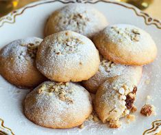 Persian Date-and-Walnut-Filled Cookies / Koloocheh Recipe (Fine Cooking), Gluten-Free