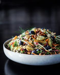 Kartoffelsalat med kål & mormordressing – VEGETARISK