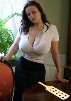 Huge natural tits polish MILF Aneta Buena wants to spank your ass