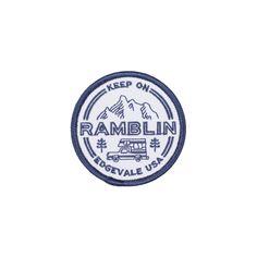 Edgevale Keep On Ramblin' Patch