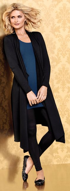 The Open Fleece Wrap Black has a long, loose drape of ultra-soft and silky comfort. My Soma Wish List Sweeps