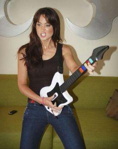 WOW - Jessica Chobot Jessica Chobot, Music Instruments, Guitar, Beautiful Women, Lady, People, Games, Musical Instruments, Beauty Women