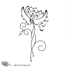 phoenix and lotus flower tattoo - Google Search