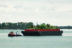 New York's Urban Farm Is Designed To Float On The Hudson River - http://www.psfk.com/2016/04/new-yorks-urban-farm-is-designed-to-float-on-the-hudson-river.html