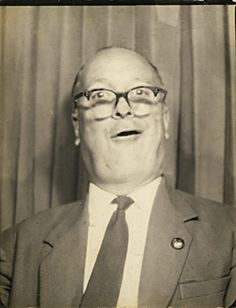 +~ Vintage Photo Booth Picture ~+ This guy cracks me up!