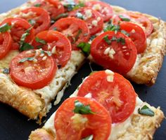 Katie, Darling!: Let Them Eat Tomato Basil Tarts!