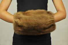 Scaldamani pelliccia visone  www.amifur.com