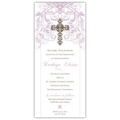 Baptism invitation wording samples and ideas for your