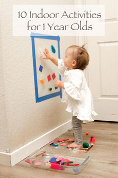Indoor activities for one year olds things to do сенсорная игра, дети и вос Activities For One Year Olds, Toddler Learning Activities, Infant Activities, Learning Toys, Indoor Activities For Toddlers, 1 Year Old Games, Summer Activities, Activities For 2 Year Olds Indoor, Family Activities