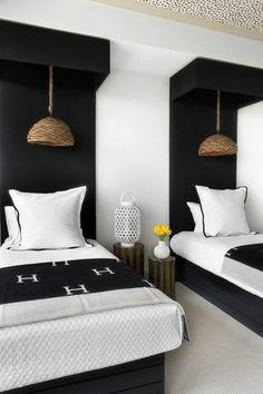 Guest Bedroom Inspiration from Lee Kleinhelter Model Apartment Room decor design Decor, Guest Bedroom Inspiration, Guest Bedrooms, Interior, Home Bedroom, Twin Bedroom, Home Decor, Bedroom Inspirations, Interior Design