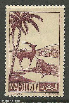 TIMBRE colonie française / MAROC Y&T n° 199 NEUF **