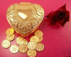 HEART Goldplated Wedding ARRAS  $52.95