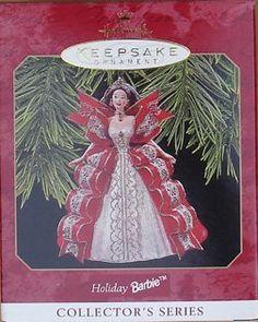 $22.95 Holiday Barbie Hallmark Keepsake Ornament     Get it here: http://astore.amazon.com/ffiilliipp-20/detail/B00497LAKE/187-5157426-7447064