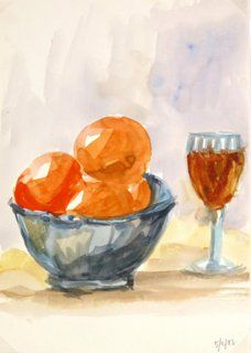 One Kings Lane - All About Art - Oranges and Wine