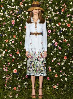 tmagazine:    Florals at Gucci.