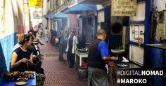 Digitální nomádství v Maroku: