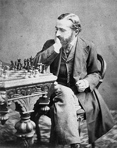 Leading player before the World Chess Championships … Johannes Zukertort. Leading player before the World Chess Championships – History Of Chess, Play Therapy Techniques, Art Through The Ages, Kings Game, Chess Players, Family Game Night, Family Games, Chess Pieces, Board Games