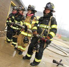 Women firefighters rock!