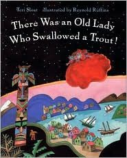 Book 231: There Was an Old Lady Who Swallowed a Trout! | BookaDay