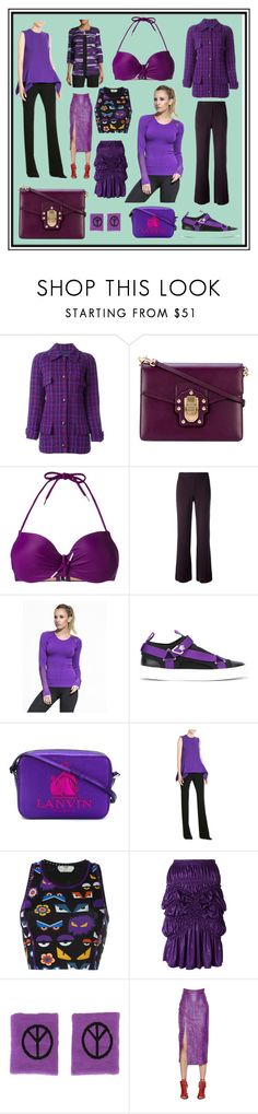 """""""Latest Trend In Hot Summer"""" by cate-jennifer ❤ liked on Polyvore featuring Chanel, Dolce&Gabbana, Marlies Dekkers, Theory, Alala, Versace, Lanvin, Victoria, Victoria Beckham, Fendi and Issey Miyake"""