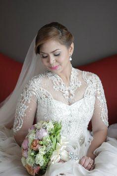 Bride Angela Wedding Gown By Jazel Sy Www Jazelsy Thank You So Much