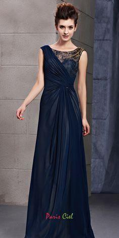 Truly Exquisite Dark Navy Dress
