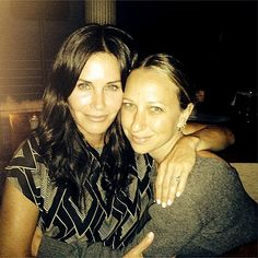 That's what friends are for! Tobey Maguire's wife Jennifer Meyer created pal Courteney Cox's engagement ring from Johnny McDaid. Check out the pic!